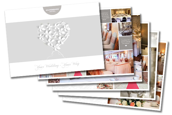 Wedding Brochure for the Gilvenbank Hotel Glenrothes