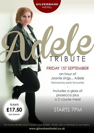 Gilvenbank Adele Tribute