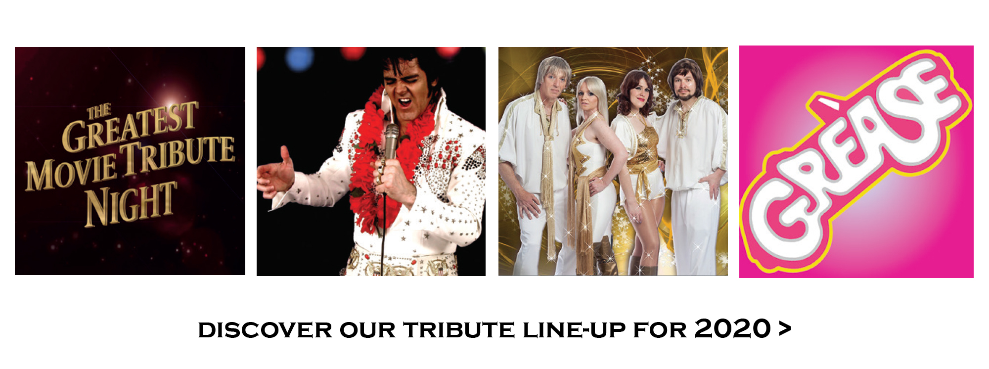 Our Tribute Nights Line Up