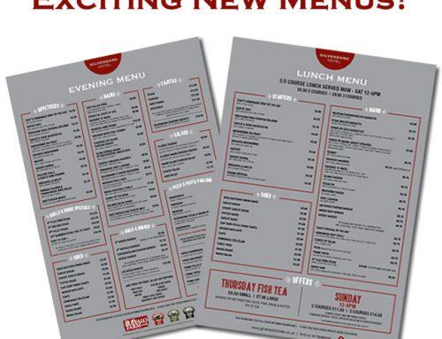 New Menus Launching at Gilvenbank