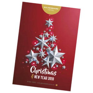 Christmas Brochure for the Gilvenbank Hotel Glenrothes