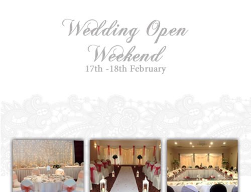 Wedding Open Weekend  17th – 18th February 2018
